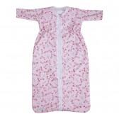 Trappelzak winter Pink Blossom 80 cm - Little Dutch