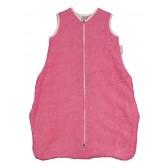 Trappelzak Badstof met Flanel Rome Hot Pink 65 cm - Koeka